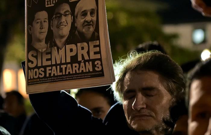 Fueron detenidos 43 compañeros de alias Guacho en Ecuador