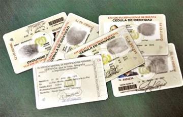 Bolivia: ¿Excluirá estado civil y profesión del carnet de identidad?