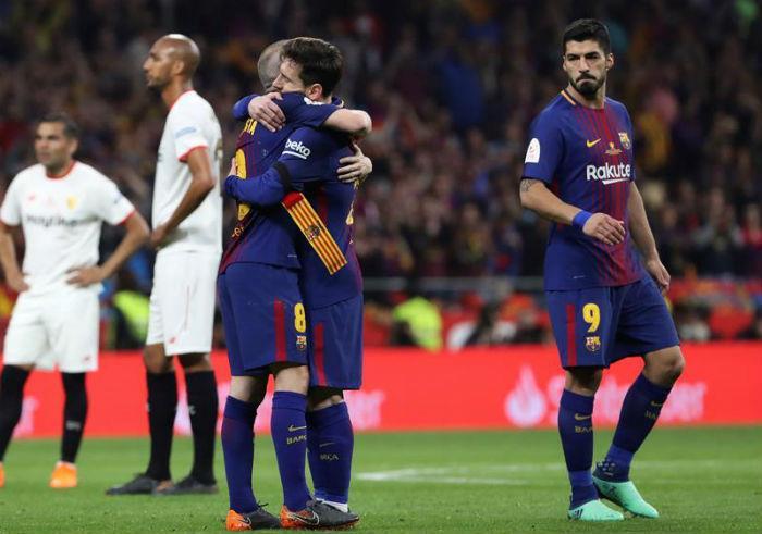 Barcelona el gran campeón de la Copa del Rey!