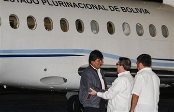 Evo Morales llega a La Habana para reunirse con el nuevo presidente cubano
