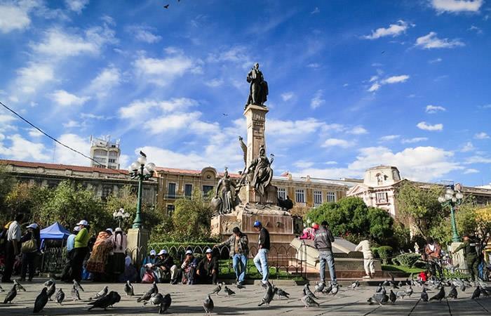 Bolivia estrena su primer escudo azul para proteger el patrimonio