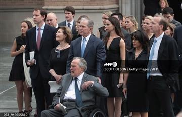 EEUU: Hospitalizan al expresidente George Bush tras funeral de su esposa Barbara