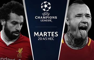 Liverpool vs. Roma: Transmisión EN VIVO online