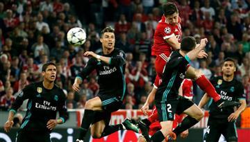 Bayern Múnich no pudo con Real Madrid y perdió 2-1