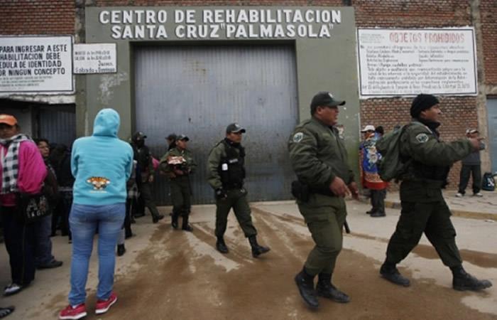 Santa Cruz: Entregan detectores de metal para la cárcel de Palmasola
