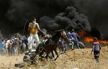 Tres palestinos asesinados por disparos israelíes en la frontera de Gaza