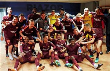 El Barcelona se corona campeón en una Liga con récord