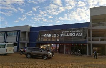 Evo entregó unidad educativa Carlos Villegas en Bulo Bulo