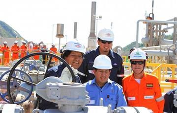 Evo inaugura producción del pozo de gas naturalk 'SBL-6' en Tarija
