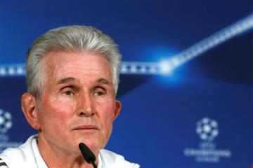 """Heynckes :""""Que los jugadores sean los que decidan el partido, no los árbitros """""""