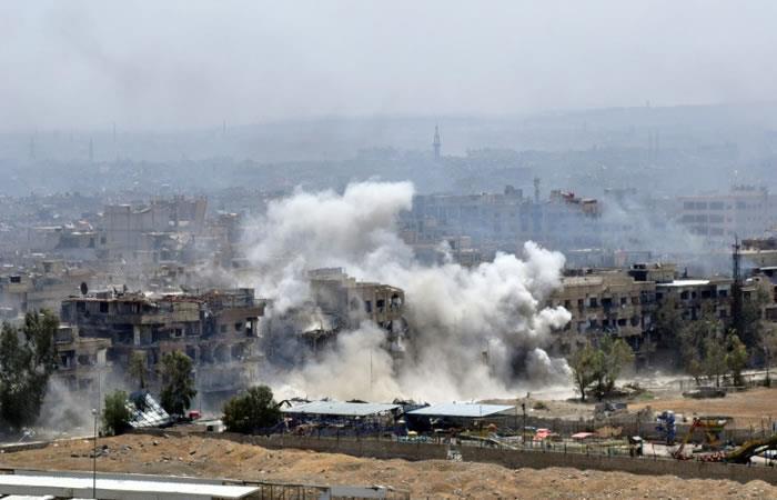Israel sería el responsable del ataque con misiles contra iraníes en Siria