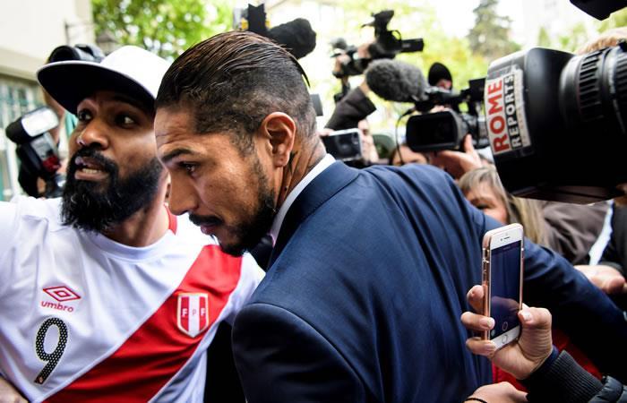 Paolo Guerrero se muestra confíado tras más de 10 horas con la TAS