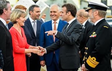 Macron se burla de su