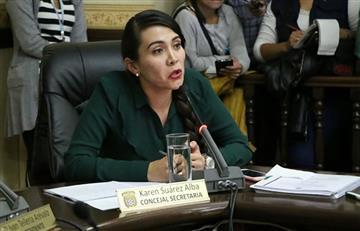 Mochilas: Karen Suárez asume la Alcaldía de Cochabamba en remplazo de Leyes
