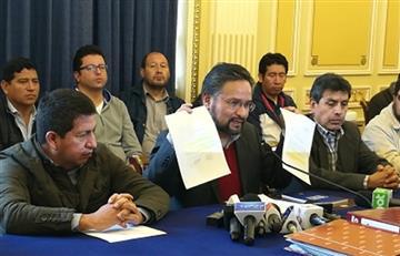 """Chuquisaca: Gobierno denuncia """"interés político"""" para escalar conflicto"""