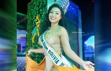 Daniela Mejía, la nueva miss Bum Bum Bolivia 2018
