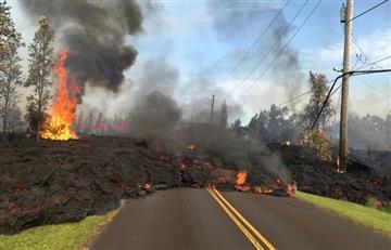 EE.UU: La amenaza del volcán Kilauea continúa sobre Hawái
