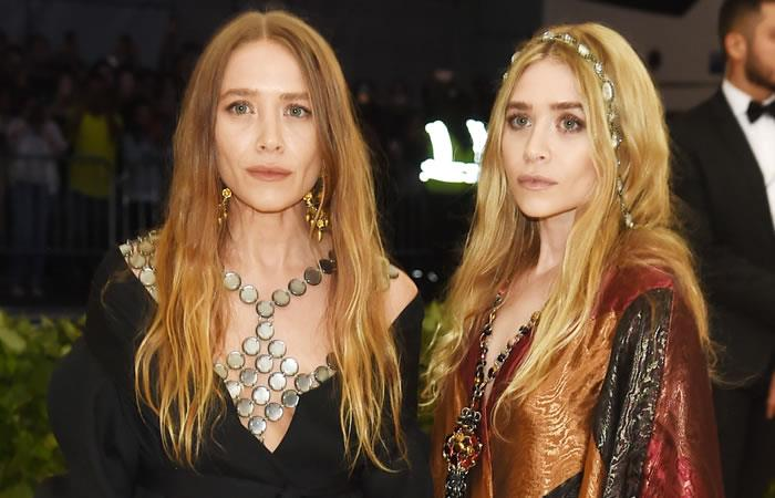 Mary-Kate Olsen y Ashley Olsen. Foto: AFP