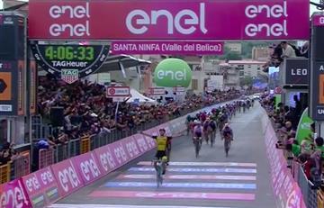 Giro de Italia: Enrico Battaglin se impone en la quinta etapa