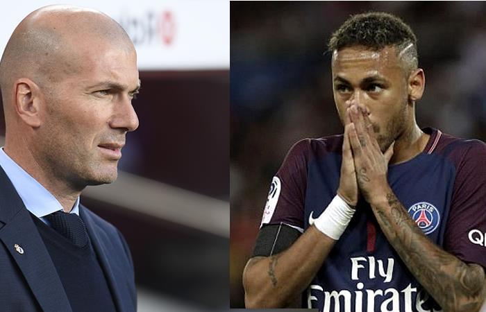 Zidane negó haber pedido a Neymar