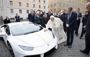 Papa Francisco vende su Lamborghini para ayudar a los más necesitados