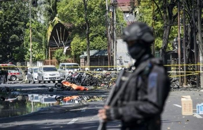 Estado Islámico es responsable de atentados contra iglesias en Indonesia