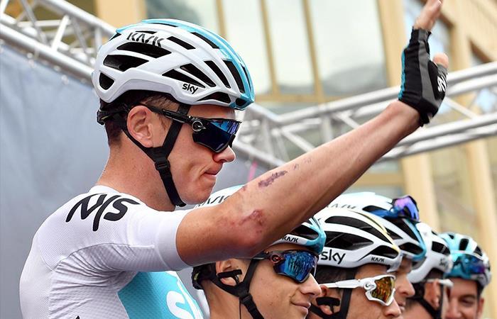 Chris Froome no responde en el Giro de Italia pero él seguirá luchando