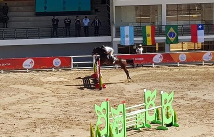Juegos Suramericanos 2018: Evo inaugura centro ecuestre y polígono de tiro