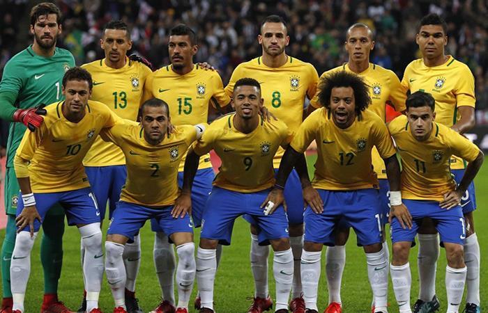 Neymar en la lista de los 23  de Brasil que irán a la Copa del Mundo