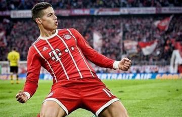 James Rodríguez entre los mejores jugadores de la temporada