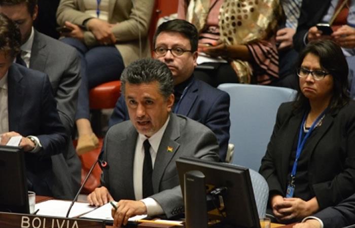 Llorenti alerta que EEUU enardece los ánimos en la Franja de Gaza