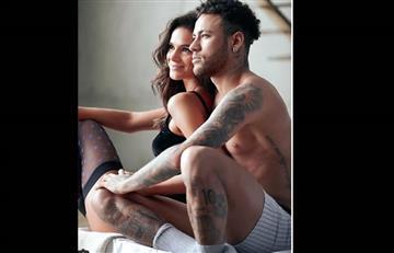 Neymar y su novia encienden las redes con sensual foto
