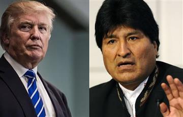Evo condena 'odio racista' de Trump por llamar 'animales' a inmigrantes