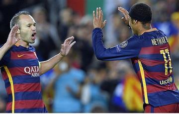 """Iniesta asegura que sería """"terrible"""" que Neymar fichara con el Real Madrid"""