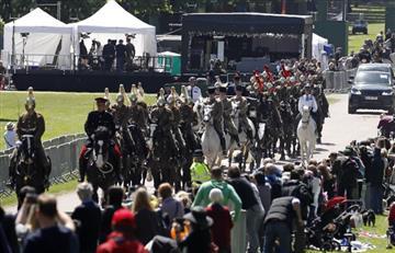 Así fue el ensayo general de la boda real de Meghan Markle y el príncipe Harry