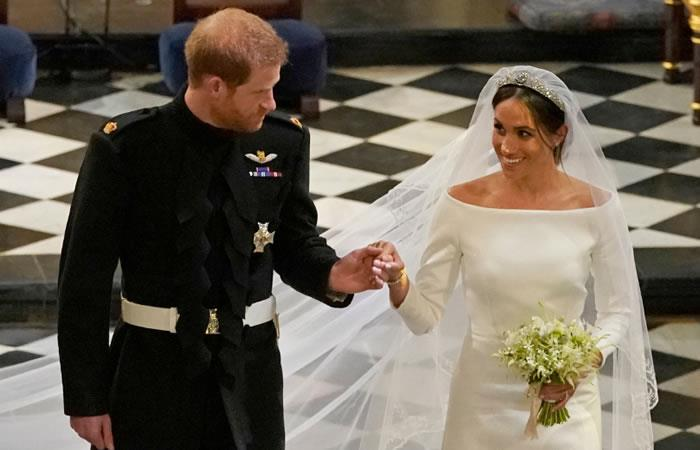 Boda real: Meghan Markle y el costoso vestido de novia que lució