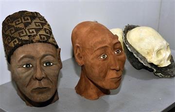 Bolivia: Salen a la luz rasgos faciales de cráneos de tiwanakotas