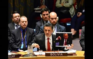 Bolivia condena violencia contra población civil en el Consejo de Seguridad
