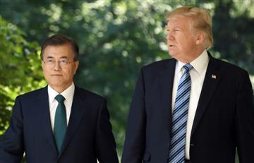 Trump insinúa que la cumbre con Kim podría