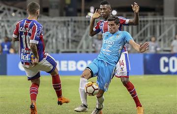 Bahía golea al Blooming y se clasifica a segunda fase de la Sudamericana