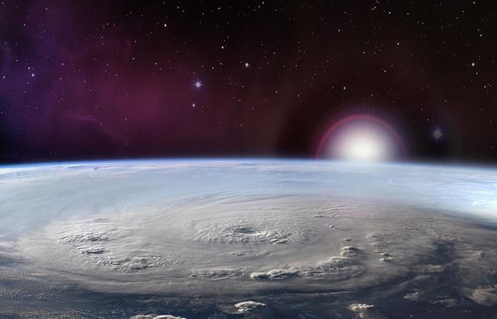 Detectan rayos antimateria en el Huracán Patricia