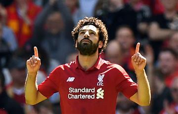 Salah interrumpe el ayuno del Ramadán por la final de la Champions League