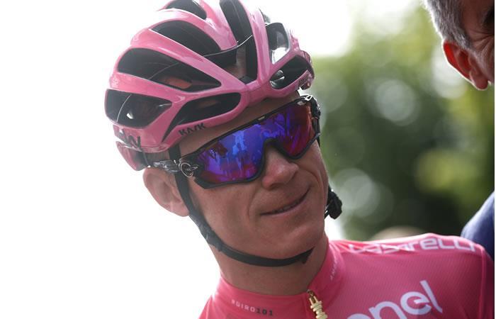 Chris Froome y sus palabras al coronarse campeón del Giro de Italia