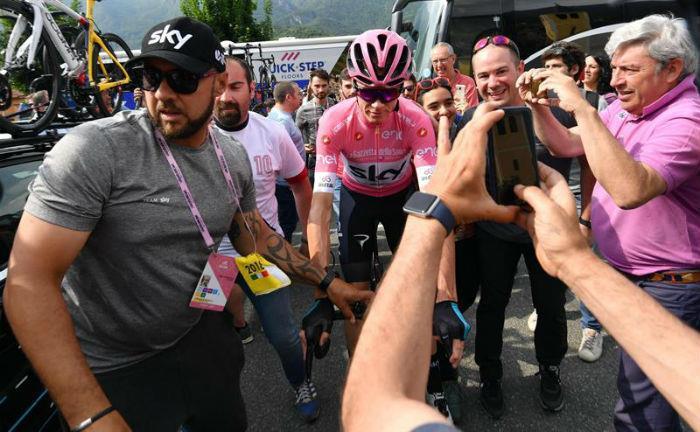 Giro de Italia: Mikel Nieve conquista la vigésima etapa