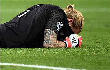 Karius, el portero del Liverpool pide perdón entre lágrimas a la afición y esta lo apoya