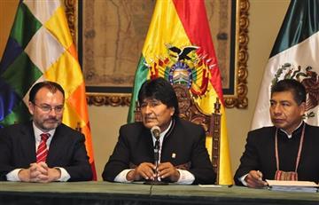 Morales aboga por un triunfo de la democracia en Colombia