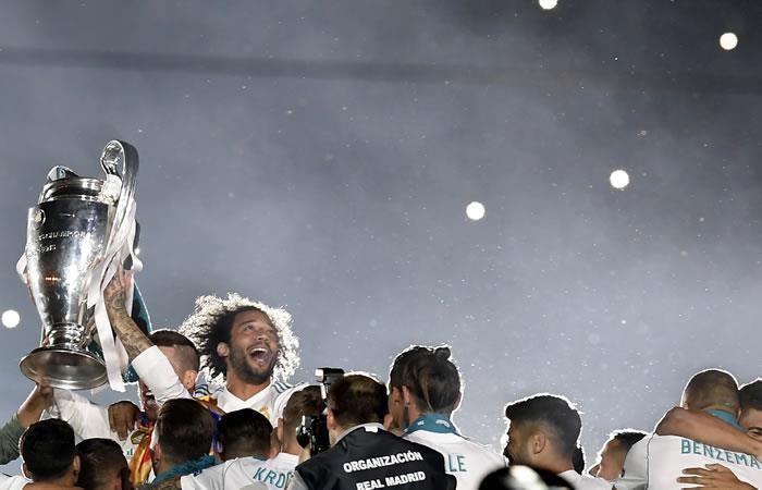Real Madrid y la enorme fiesta en el Santiago Bernabéu tras ganar la Champions