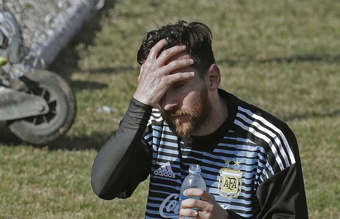 """Messi: """"Argentina no es candidata a ganar la Copa Mundo"""""""