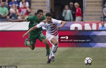 Amistoso: Una juvenil selección estadounidense golea a Bolivia
