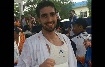 Boliviano logra bronce en karate y clasifica a los Panamericanos de 2019